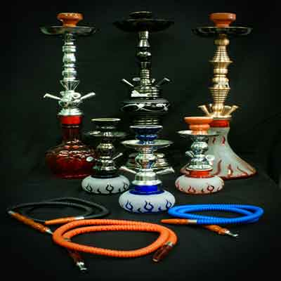big or small hookahs